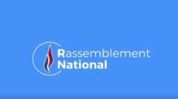 Découvrez le nouveau logo du Rassemblement National, ex-Front