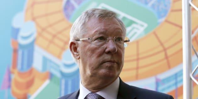 Sir Alex Ferguson (ici à Glasgow en octobre 2016) a été opéré du cerveau après une hémorragie cérébrale.