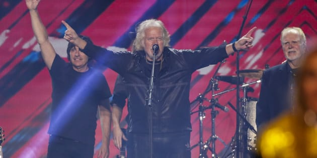 Randy Bachman closes the show during the Invictus Games in Toronto on Sept. 30, 2017.
