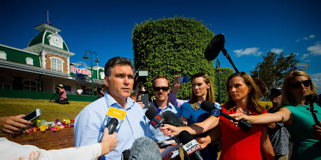 Dreamworld CEO Craig Davidson has addressed media on community recovery after the disaster at the park.