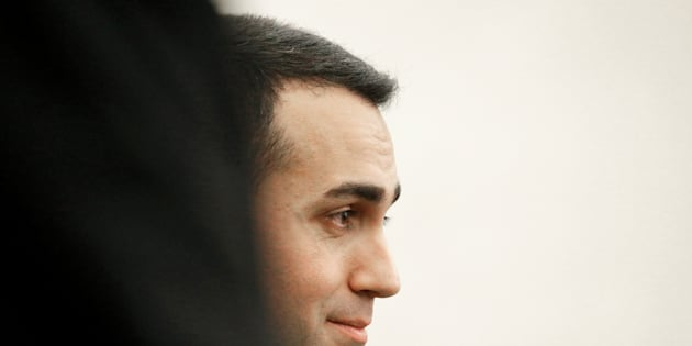 5-Star Movement leader Luigi Di Maio attends a news conference, the day after Italy's parliamentary election, in Rome, Italy March 5, 2018. REUTERS/Max Rossi