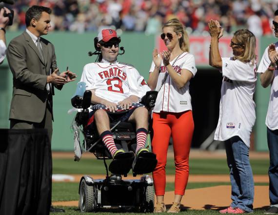 Pete Frates, ice bucket challenge symbol, dies at 34