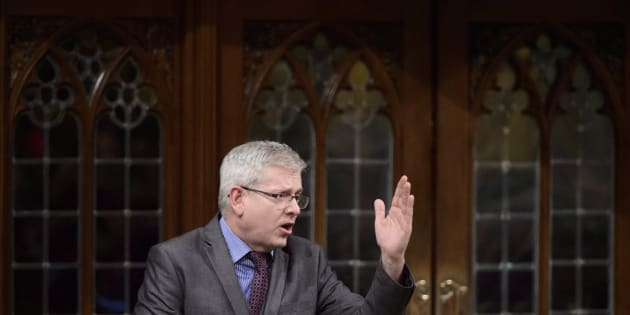 NDP MP Charlie Angus stands during question period ion the House of Commons on Parliament Hill in Ottawa on Wednesday, March 28, 2018. THE CANADIAN PRESS/Sean Kilpatrick