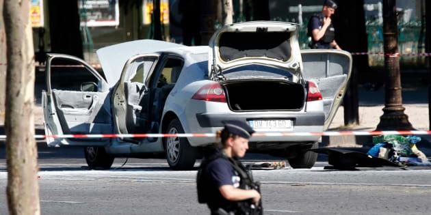 L'auteur de la tentative d'attentat avait-il alerté les médias — Champs-Elysées