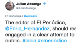El rotundo tuit de Assange: