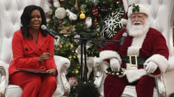 VIDEO: Michelle Obama baila con Santa