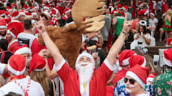 Thousands Of Santas Are Getting Wasted For A Good Cause This