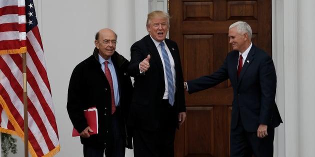 La fortune des 17 membres du cabinet Trump dépasse celle cumulée de 126 millions d'Américains