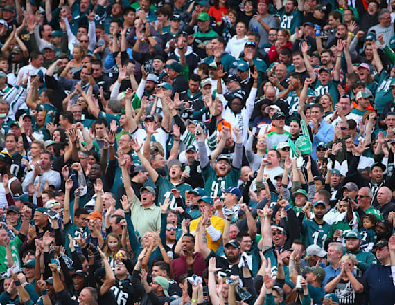 Being an Eagles fan could be harmful to your health