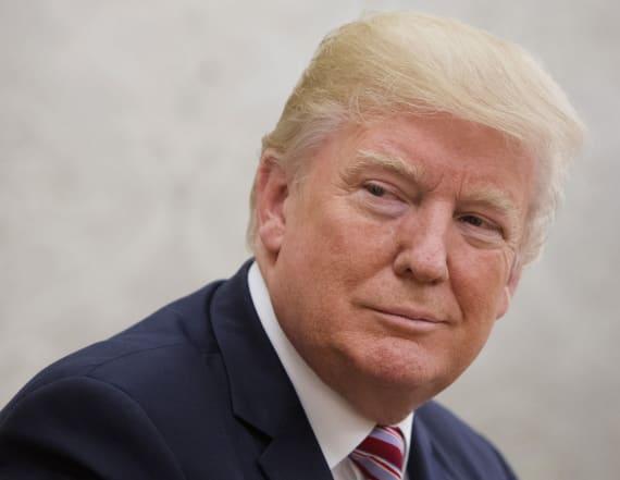 Trump said he's groped Melania Trump in public