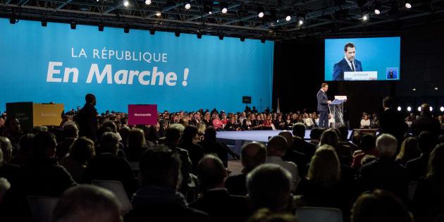 Christophe Castaner a quitté la tête du parti au pouvoir pour devenir ministre de l'Intérieur. Son successeur doit être élu le 1er décembre prochain.