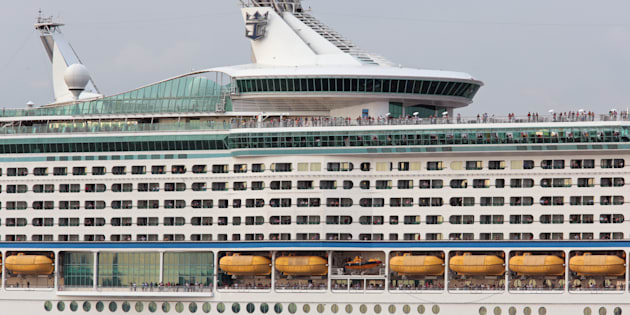 A file photo of Voyager of the Seas.
