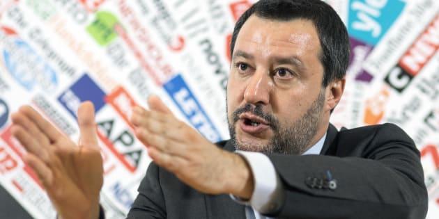 "Salvini: ""Creare Asse Roma Berlino"". Polemica per l"