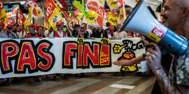 La CGT prévoit une nouvelle grève à la SNCF le 19 juillet