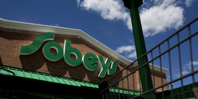 A Sobeys Inc. grocery store stands in Toronto, Ontario.