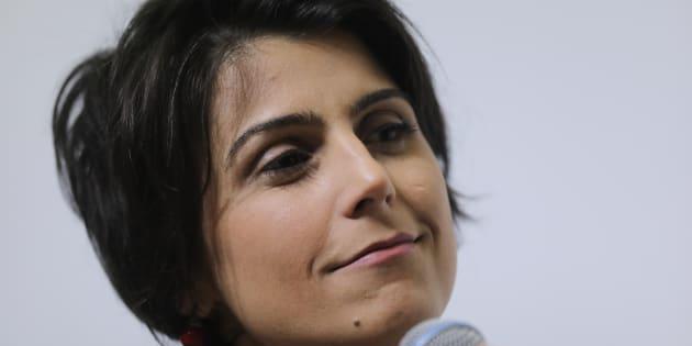 Na última pesquisa Datafolha, Manuela D'Ávila (PCdoB) registrou 1% das intenções de voto na corrida presidencial.