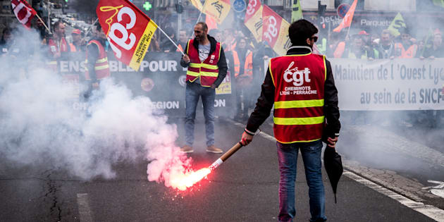 Grève SNCF: la cagnotte de soutien aux cheminots dépasse les 250.000 euros.