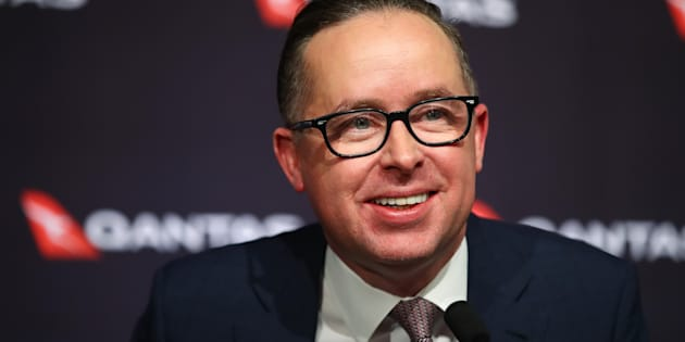 Alan Joyce throws financial support behind the 'Yes' campaign.