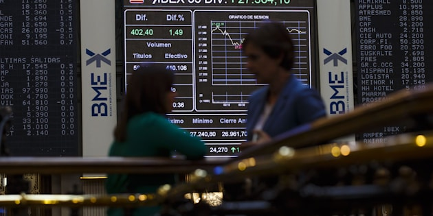 La Bolsa de Madrid/ Getty