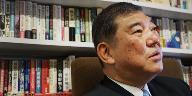 Shigeru Ishiba, a member of the Liberal Democratic Party (LDP)