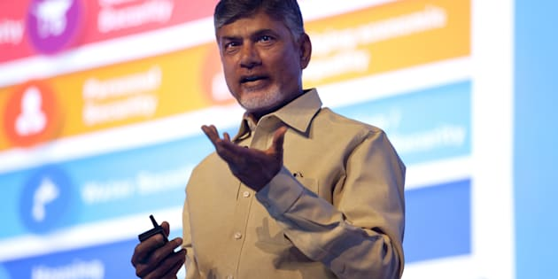 Chandrababu Naidu, chief minister of Andhra Pradesh.