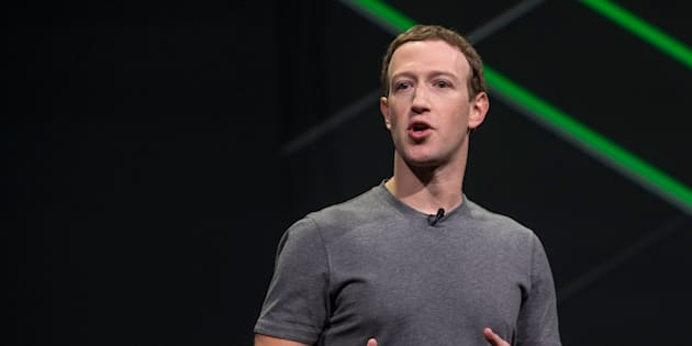 Mark Zuckerberg, chief executive officer and founder of Facebook Inc., speaks during the Oculus Connect 4 product launch event in San Jose, Calif., on Wednesday, Oct. 11, 2017.