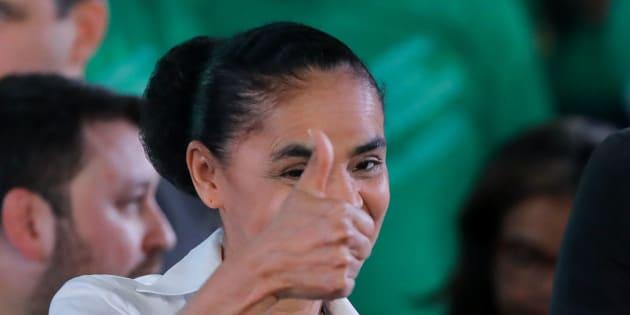 Convenção da Rede Sustentabilidade oficializa candidatura de Marina Silva e coligação com PV.