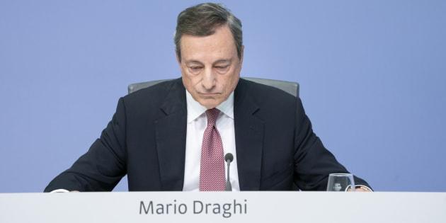Economia La bacchettata di Mario Draghi (Bce)