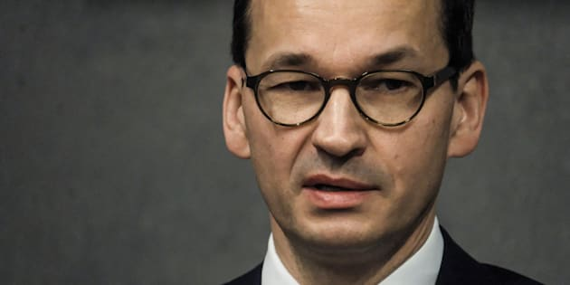 Poland's Prime Minister Mateusz Morawiecki visits the Ulma Family Museum of Poles Who Saved Jews during WWII in Markowa, Poland February 2, 2018.