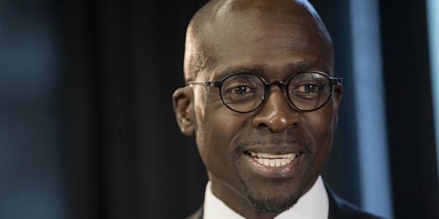 South African Finance Minister Malusi Gigaba during a Bloomberg Television interview in London, United Kingdom, in June 2017.