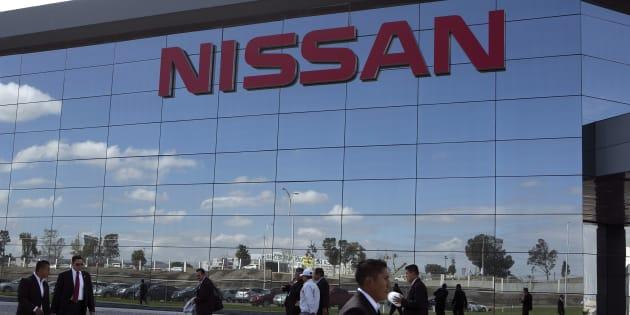 Edificio de planta Nissan en Aguascalientes.
