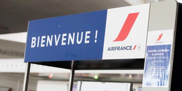 Voici comment Air France traite ses passagers quand il neige.