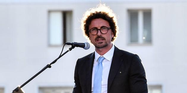 Il ministro dei Trasporti Danilo Toninelli rilancia la nazionalizzazione delle
