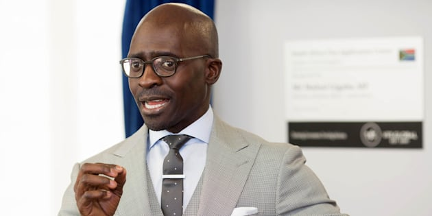 Malusi Gigaba, the South African Minister of Finance.