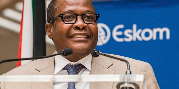 Brian Molefe speaks at Eskom's headquarters in Johannesburg on May 6 2016.