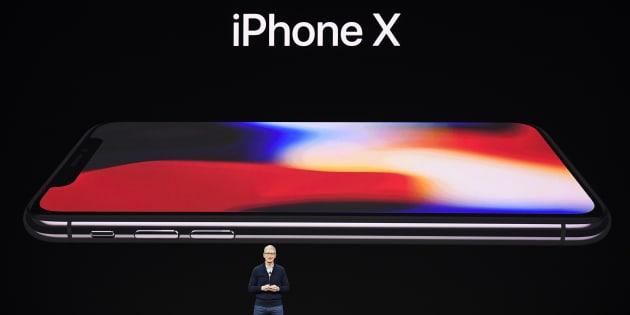 Tim Cook, président-directeur général d'Apple