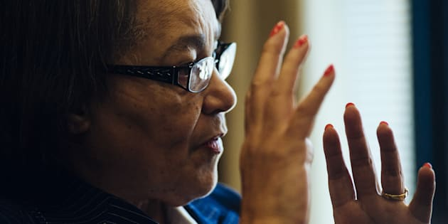 Patricia de Lille, mayor of Cape Town, speaks during an interview at her office in Cape Town, South Africa on Monday, Nov. 13, 2017.