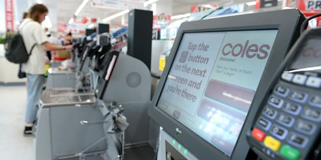 A woman has gone on a racist tirade in a Coles supermarket in Melbourne.