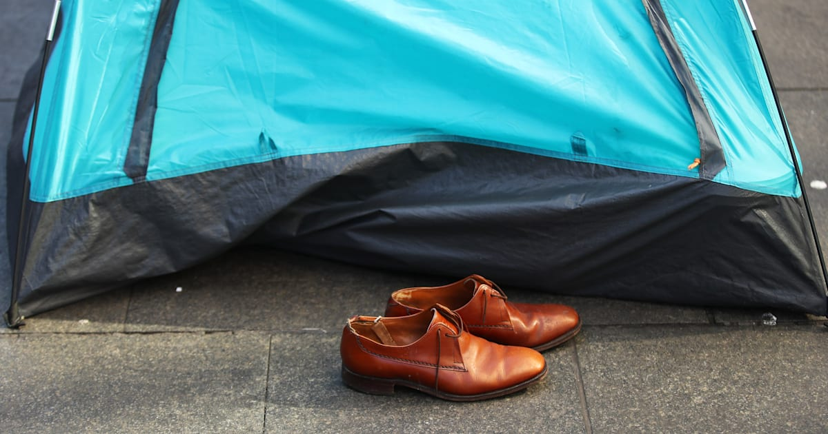 & The Tents In Martin Place Are Just The Tip Of The Homelessness Iceberg