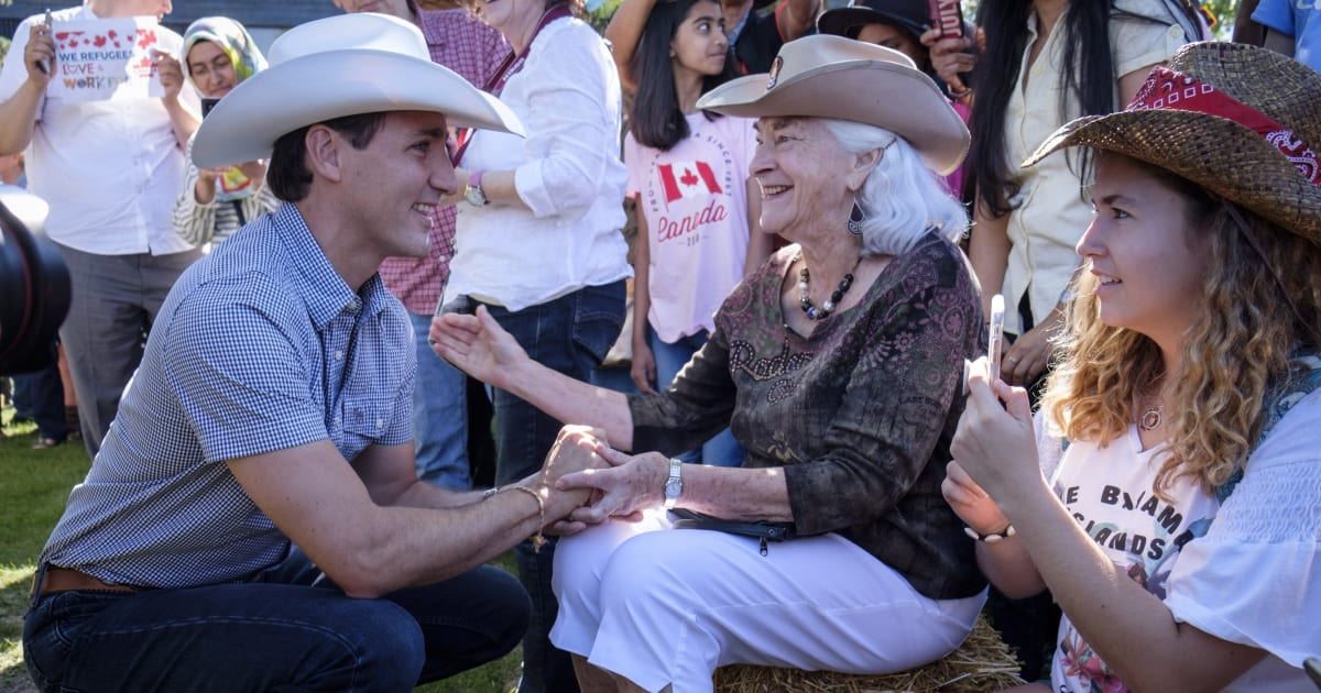 At Calgary Stampede Trudeau Talked Trans Mountain But