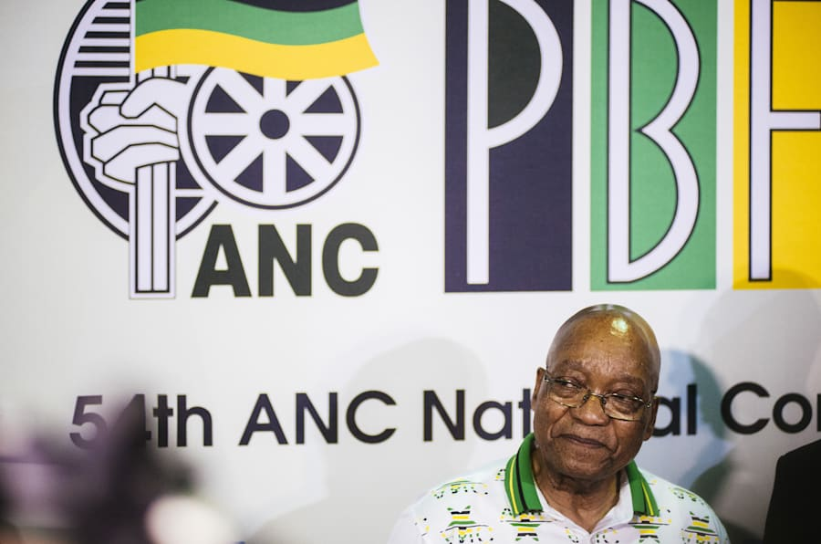 President Jacob Zuma during the 54th national conference of the ANC. December 18, 2017.