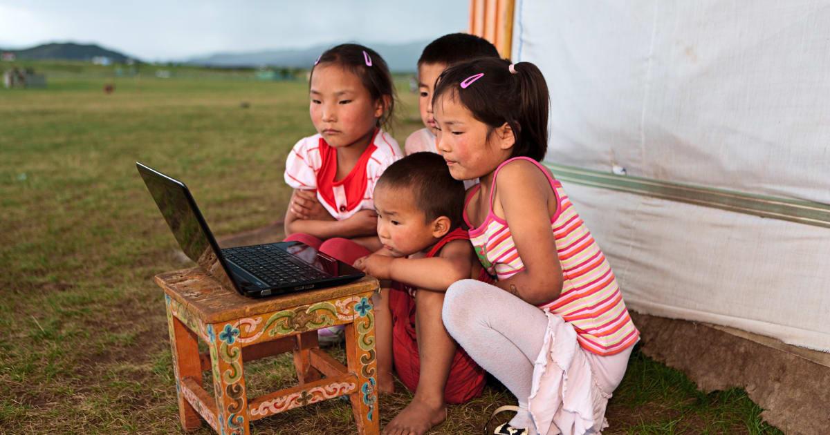 pour avoir droit une place en maternelle les enfants sont tir s au sort en mongolie le. Black Bedroom Furniture Sets. Home Design Ideas