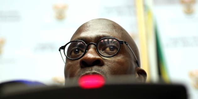 Finance Minister Malusi Gigaba.