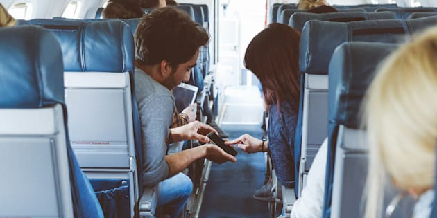 """""""Next time you put your phone into airplane mode think of your wife, your husband, your children, your parents, your siblings, your dog. Have a moment of appreciation."""""""