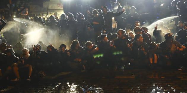 Malgré la fin du G20, les manifestations à Hambourg se poursuivent pour la 3e nuit consécutive