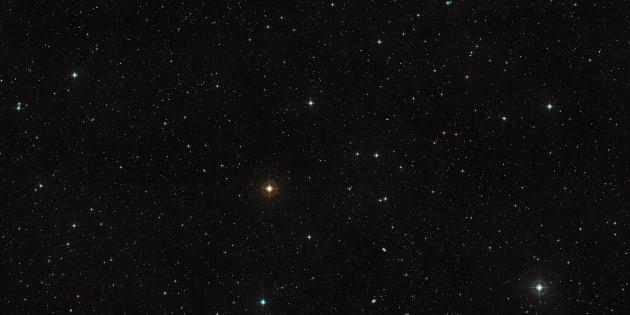 On a observé six galaxies... sans étoile