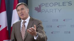Maxime Bernier Says He Will Lead 'People's Party Of
