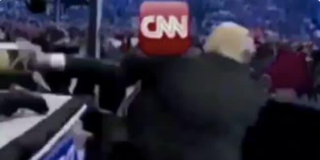 Trump mette ko la Cnn