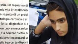 Alessio è in attesa di un cuore e scrive all'idolo Buffon:
