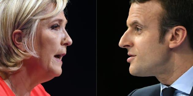 Le début de campagne de Marine Le Pen davantage jugé réussi que celui d'Emmanuel Macron